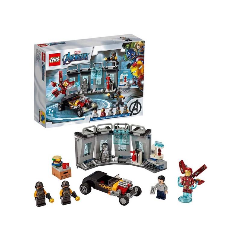 Lego Avengers Armeria Di Iron Man - Lego - MazzeoGiocattoli.it