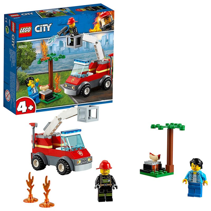 Lego City - Barbecue In Fumo 60212 - MazzeoGiocattoli.it