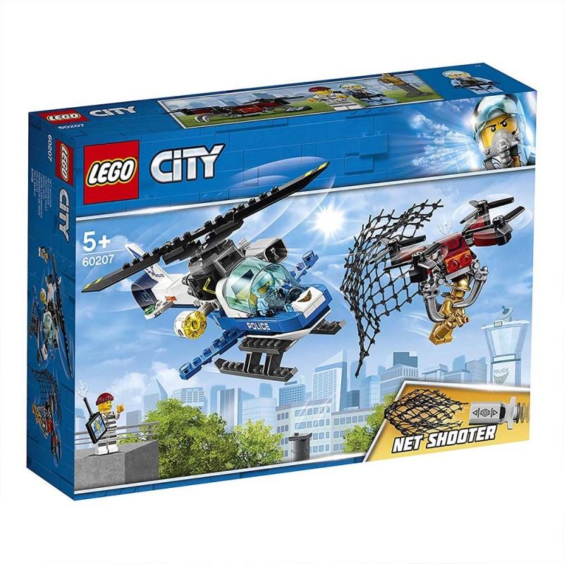 Lego City - Polizia Aerea All'inseguimento Del Drone - 60207 - MazzeoGiocattoli.it