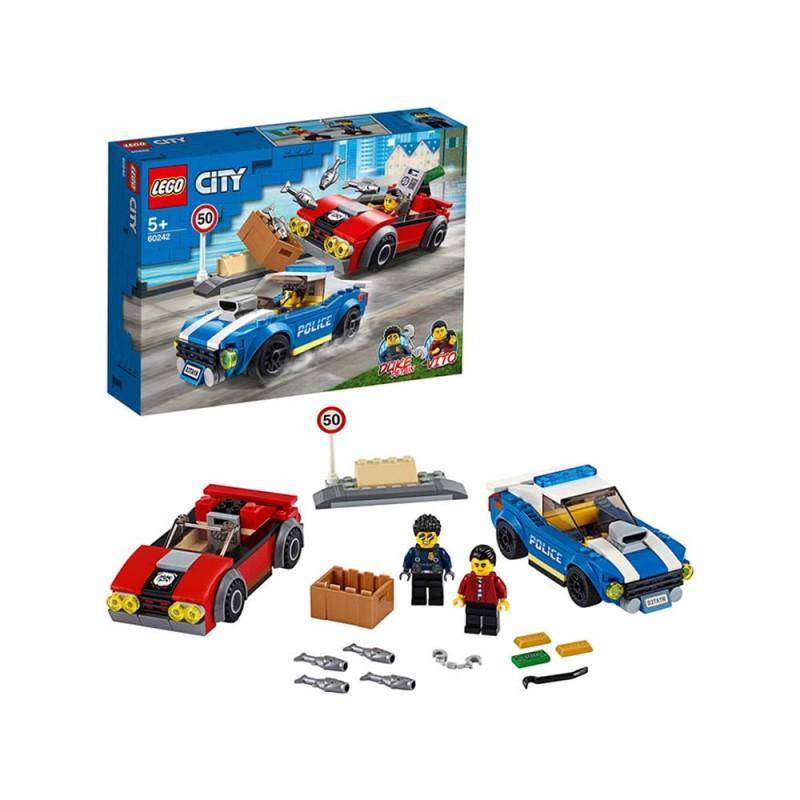 LEGO City Arresto Su Strada Della Polizia - Lego  - MazzeoGiocattoli.it