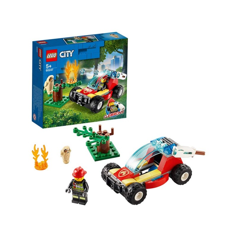 LEGO City Fire - Incendio Nella Foresta - Lego  - MazzeoGiocattoli.it