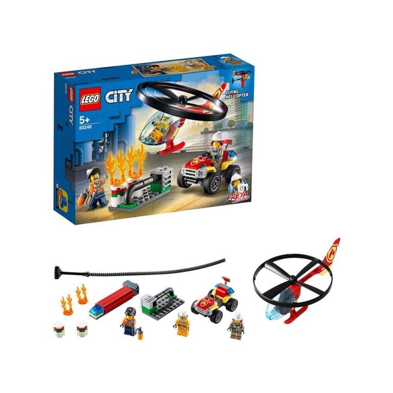 LEGO City Fire Elicottero Dei Pompieri - Lego - MazzeoGiocattoli.it