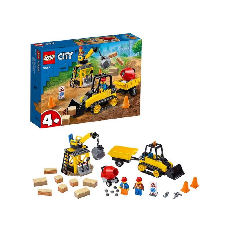 LEGO City Great Vehicles - Bulldozer Da Cantiere - Lego - MazzeoGiocattoli.it