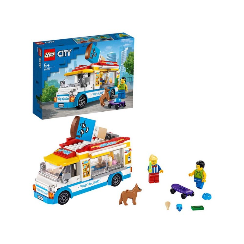 LEGO City Great Vehicles Furgone Dei Gelati - Lego  - MazzeoGiocattoli.it