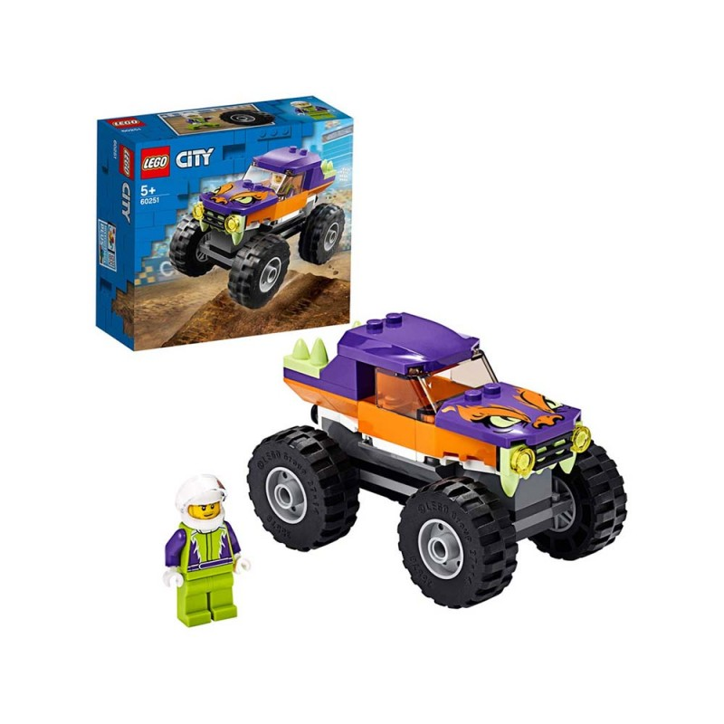 LEGO City Great Vehicles Monster Truck - Lego  - MazzeoGiocattoli.it