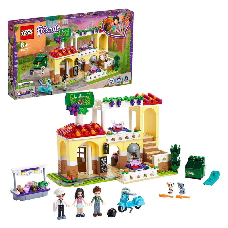 Il Ristorante Di Heartlake City - Lego Friends  - MazzeoGiocattoli.it
