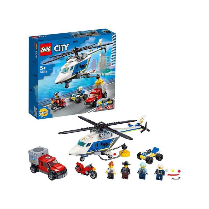 LEGO City Inseguimento Sull'Elicottero Della Polizia - Lego - MazzeoGiocattoli.it