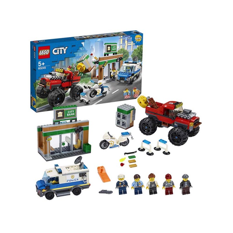 LEGO City Police Rapina Sul Monster Truck - Lego  - MazzeoGiocattoli.it