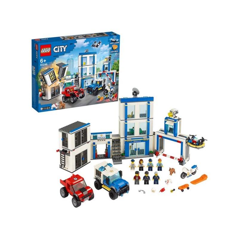 LEGO City Police Stazione Di Polizia - Lego  - MazzeoGiocattoli.it