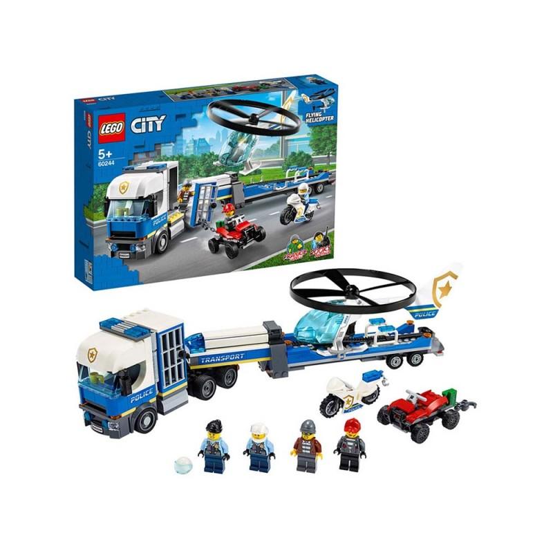 LEGO City Police Trasportatore Di Elicotteri Della Polizia - Lego  - MazzeoGiocattoli.it