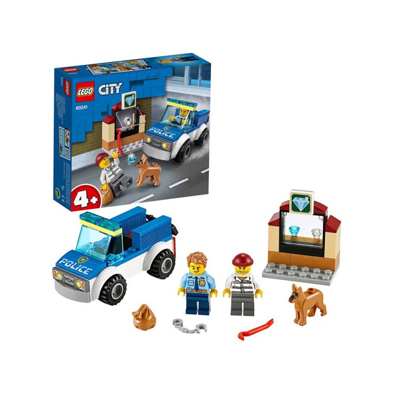 LEGO City Police Unità Cinofila Della Polizia - Lego - MazzeoGiocattoli.it