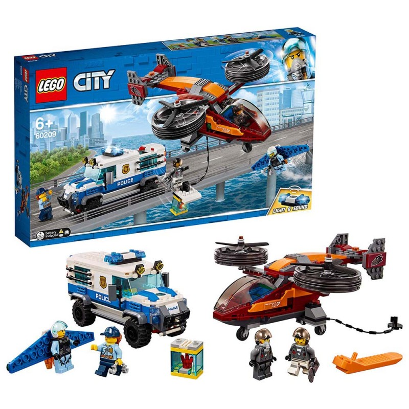 Lego City - Polizia Aerea Furto Di Diamanti - 60209 - MazzeoGiocattoli.it