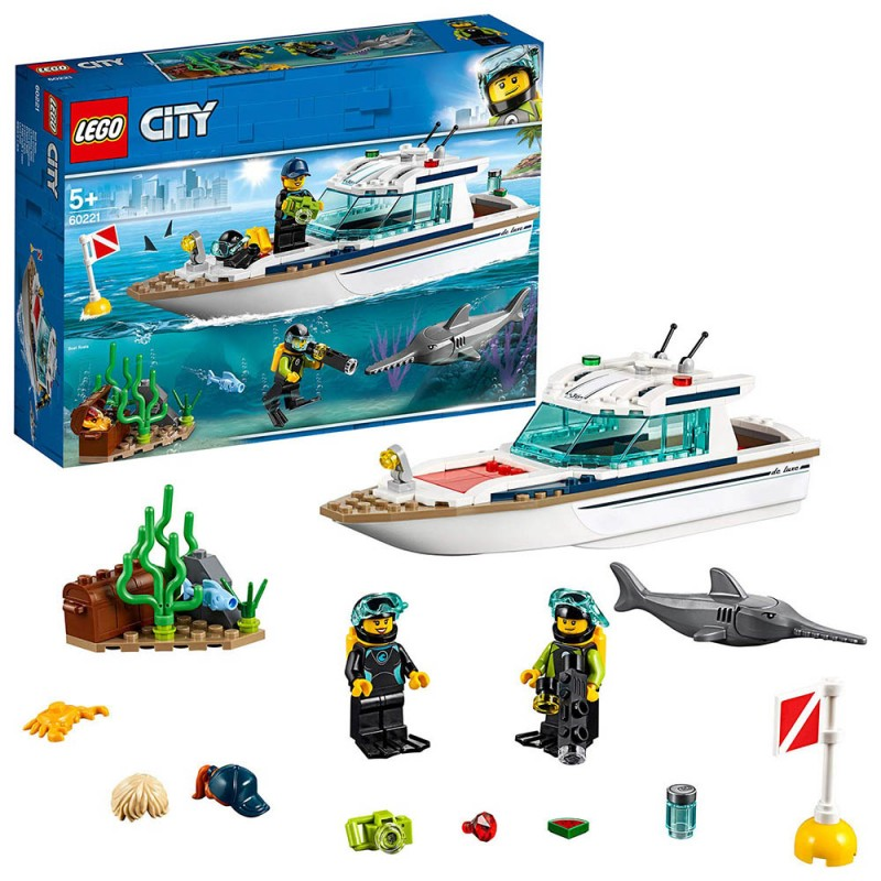 Lego City - Yacht Per Immersioni - 60221 - MazzeoGiocattoli.it