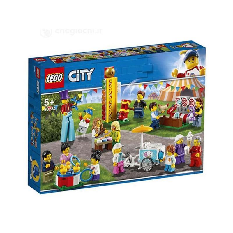 LEGO City Town - Gioco Per Bambini People Pack Luna Park - Lego - MazzeoGiocattoli.it