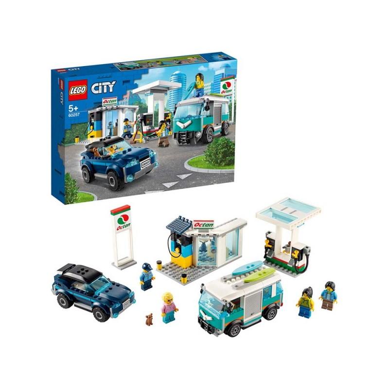 LEGO City Turbo Wheels - Stazione Di Servizio Con Negozio - Lego - MazzeoGiocattoli.it