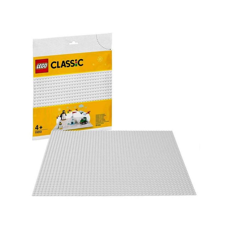 LEGO Classic - Base Bianca Di Mattoncini - Lego  - MazzeoGiocattoli.it