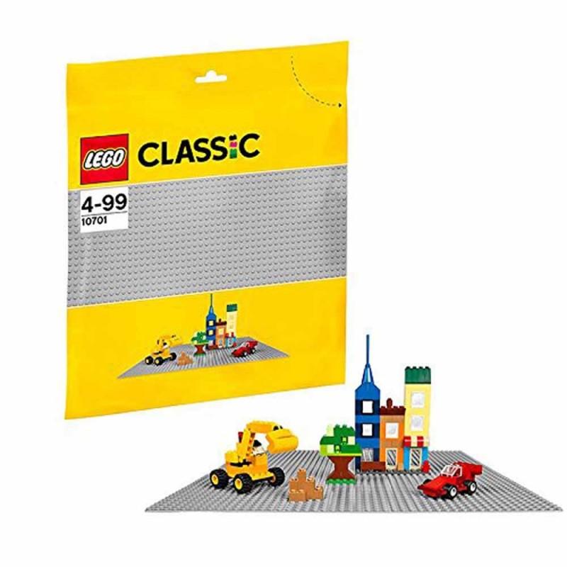 LEGO Classic - Base Grigia Di Mattoncini - Lego  - MazzeoGiocattoli.it