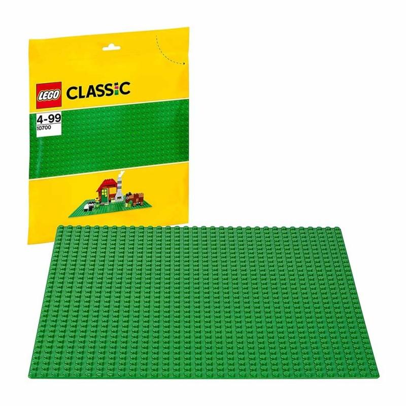 LEGO Classic - Base Verde Di Mattoncini - Lego - MazzeoGiocattoli.it