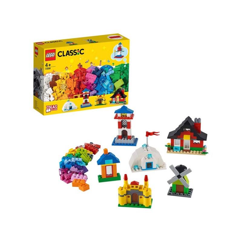 LEGO Classic Mattoncini E Case - Lego  - MazzeoGiocattoli.it