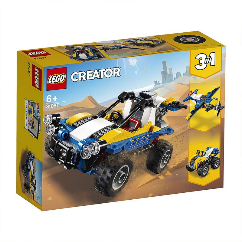 Lego Creator 3in1 - Dune Buggy - 31087 - MazzeoGiocattoli.it