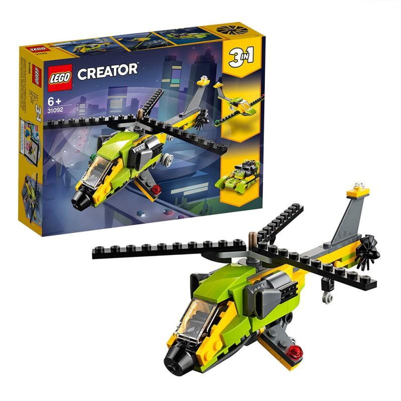 Lego Creator 3in1 - Avventura In Elicottero 31093 - MazzeoGiocattoli.it