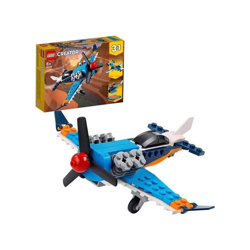 LEGO Creator 3 In 1, Aereo A Elica - Lego - MazzeoGiocattoli.it