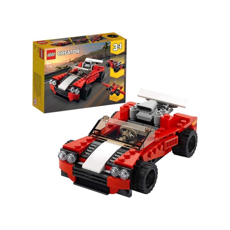 LEGO Creator 3 In 1, Auto Sportiva - Lego  - MazzeoGiocattoli.it