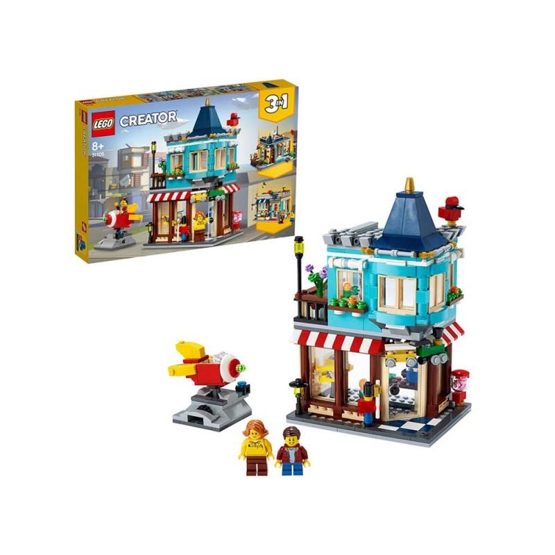 LEGO Creator 3 In 1, Il Negozio Di Giocattoli - Lego - MazzeoGiocattoli.it