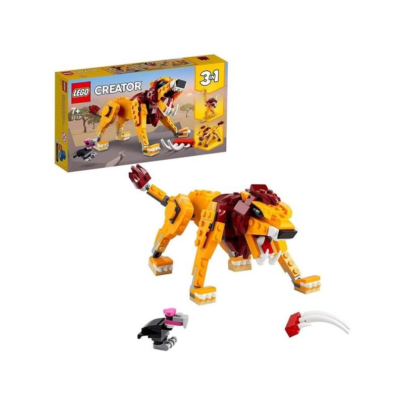Lego Creator 3 In 1 Leone Selvatico - Lego - MazzeoGiocattoli.it