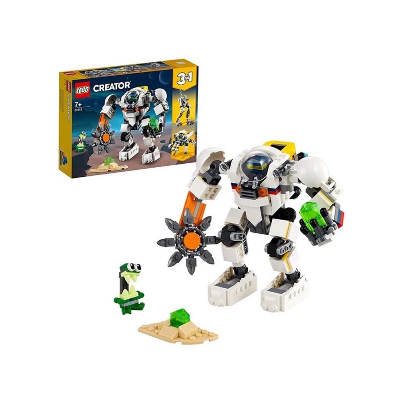 Lego Creator 3 In 1 Mech Per Estrazioni Spaziali - Lego - MazzeoGiocattoli.it