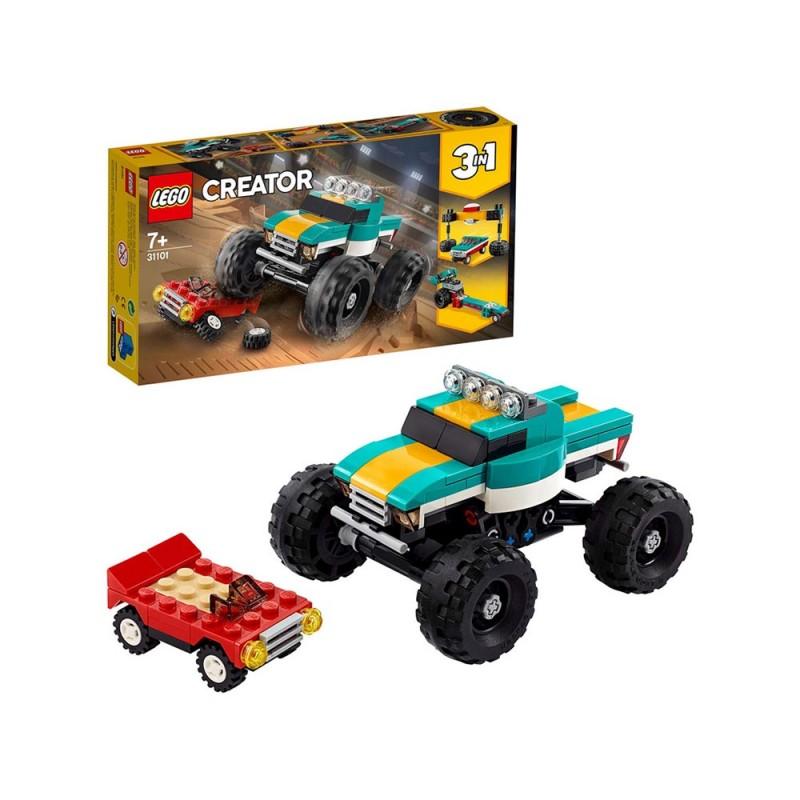 LEGO Creator 3 In 1, Monster Truck - Lego  - MazzeoGiocattoli.it