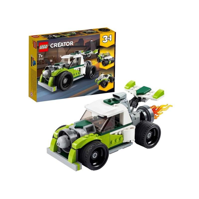 LEGO Creator 3 In 1, Razzo-Bolide - Lego  - MazzeoGiocattoli.it