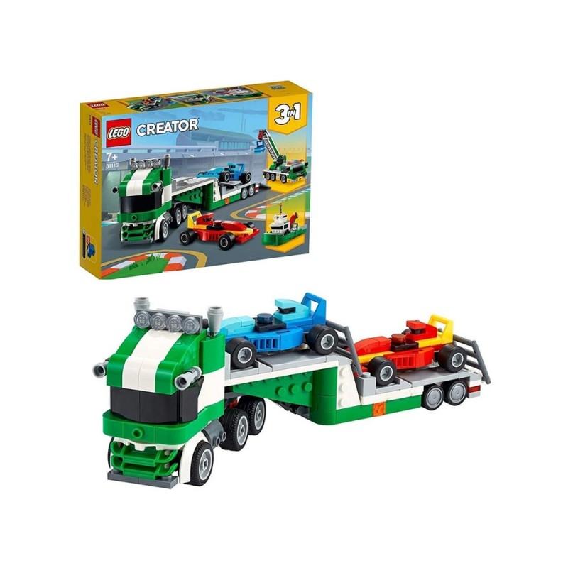 Lego Creator 3 In 1 Trasportatore Di Auto Da Corsa Con Rimorchio - Lego  - MazzeoGiocattoli.it