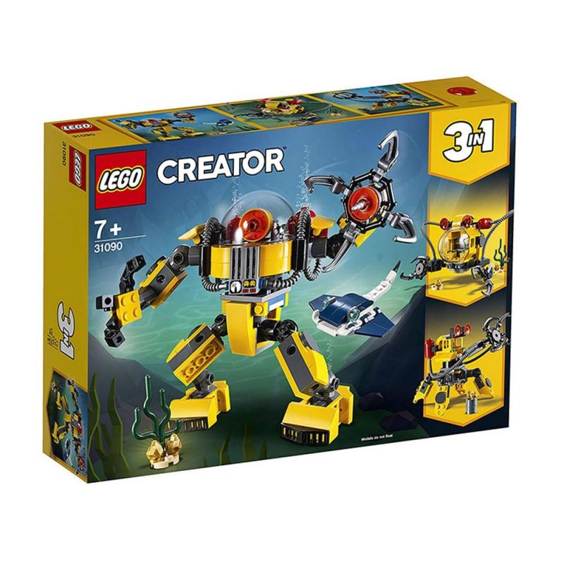 Lego Creator 3in1 - Robot Sottomarino - 31090 - MazzeoGiocattoli.it