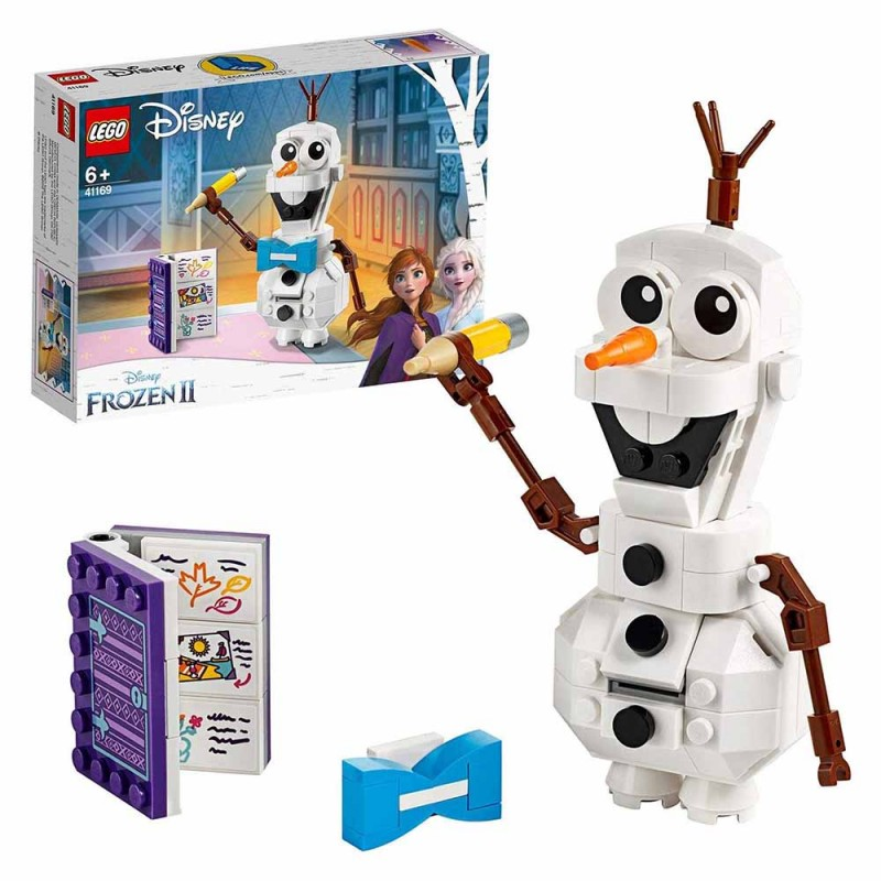 Disney Frozen Olaf, Personaggio Disney - Lego  - MazzeoGiocattoli.it