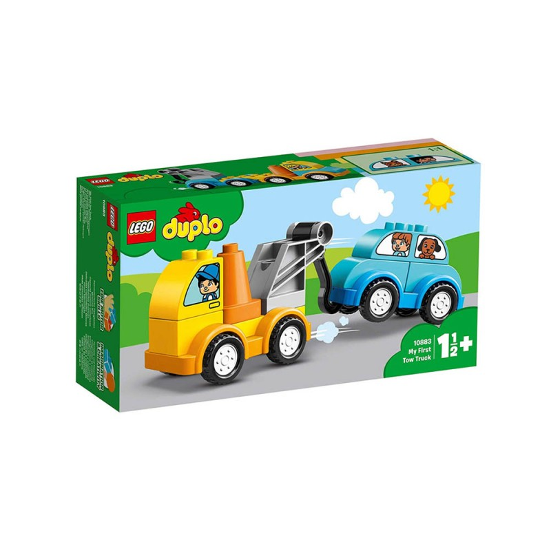 LEGO Duplo - La Mia Prima Autogrù - Lego - MazzeoGiocattoli.it