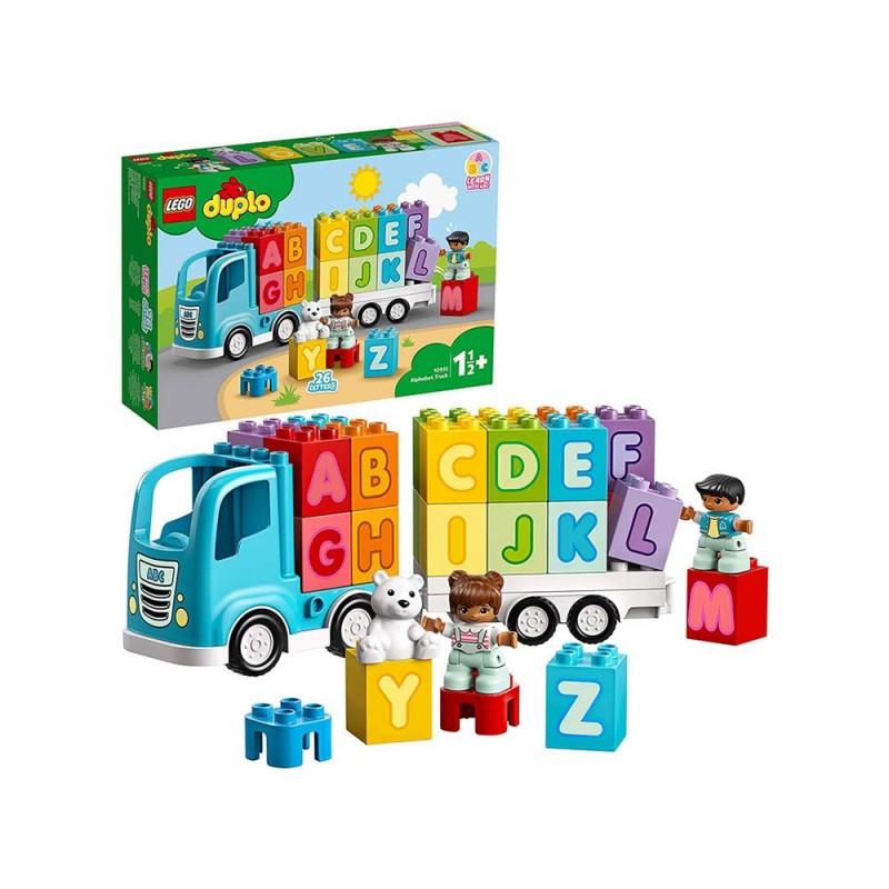 LEGO Duplo - My First Camion Dell'Alfabeto - Lego - MazzeoGiocattoli.it