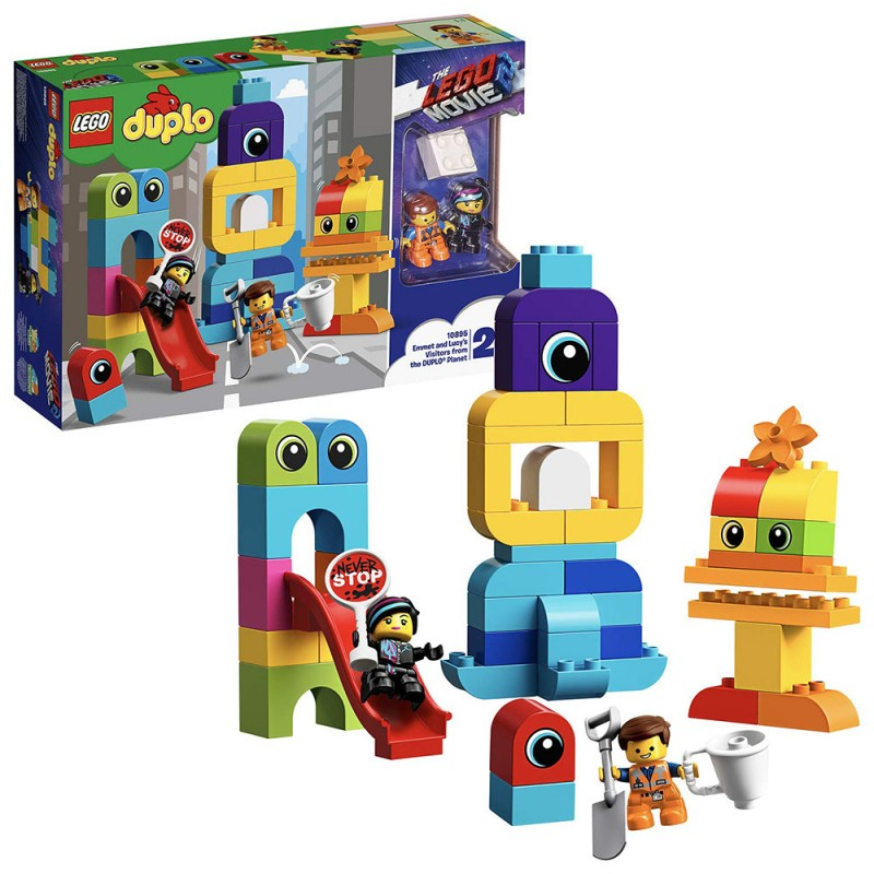 Lego Duplo - Visitatori Dal Pianeta Duplo Di Emmet E Lucy 10895 - MazzeoGiocattoli.it