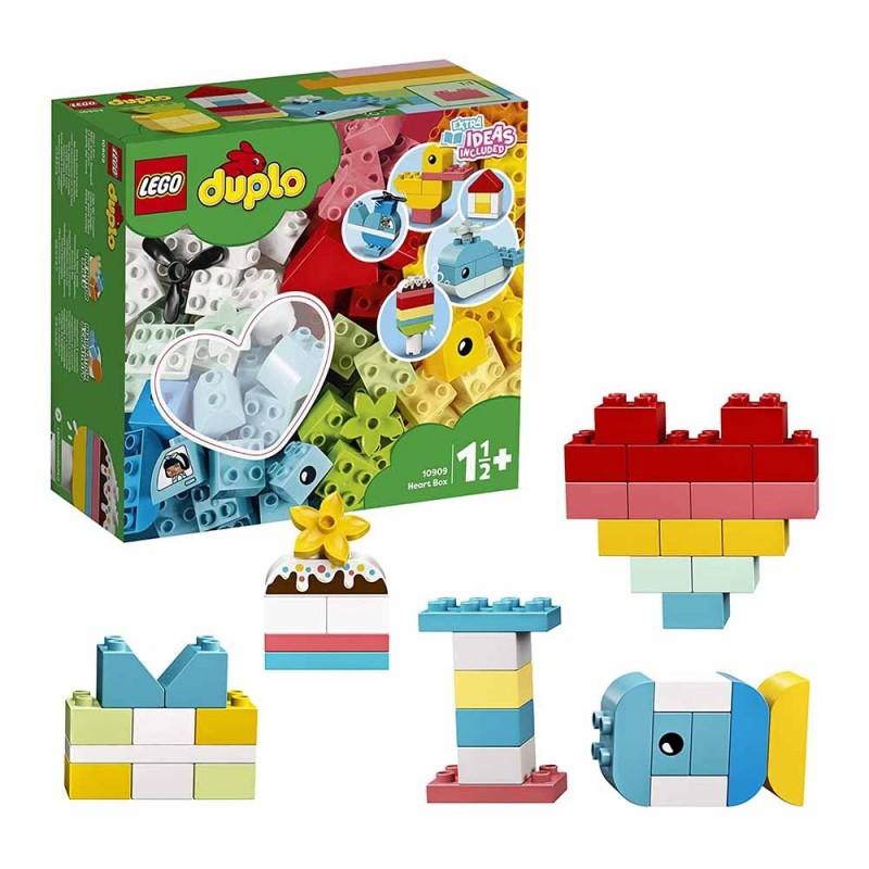 LEGO DUPLO Classic Scatola Cuore - Lego - MazzeoGiocattoli.it