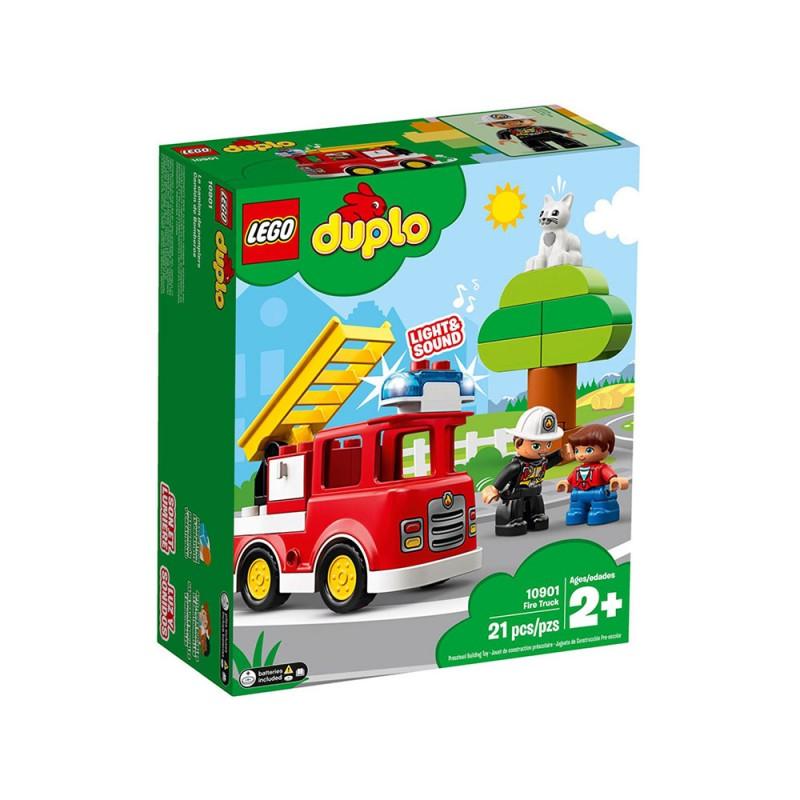 Autopompa, Con Luce Blu E Sirena - LEGO DUPLO - MazzeoGiocattoli.it
