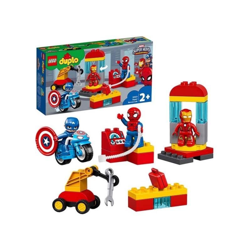 LEGO DUPLO Super Heroes Il Laboratorio Dei Supereroi - Lego - MazzeoGiocattoli.it