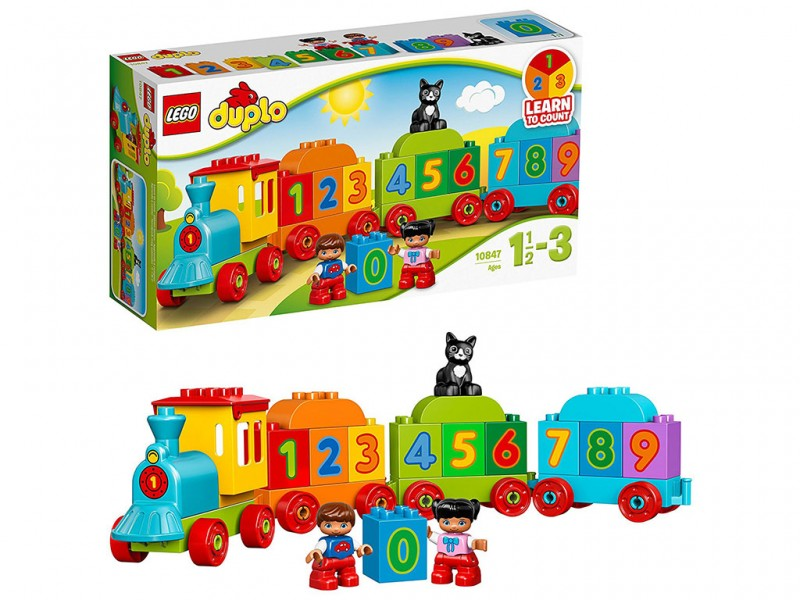 LEGO Duplo  -Il Treno Dei Numeri 10847 - MazzeoGiocattoli.it