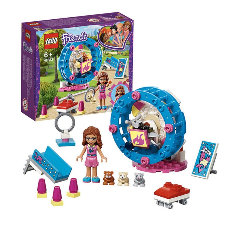 Lego Friends - L'area Gioco Del Criceto Di Olivia 41383 - MazzeoGiocattoli.it