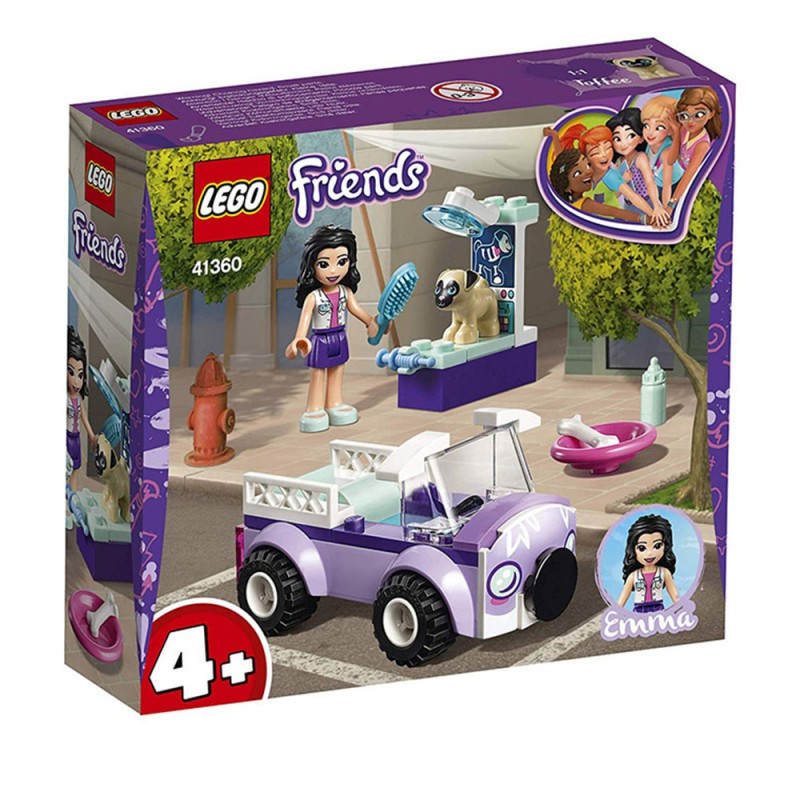 Lego Friends - La Clinica Veterinaria Mobile Di Emma 41360 - MazzeoGiocattoli.it