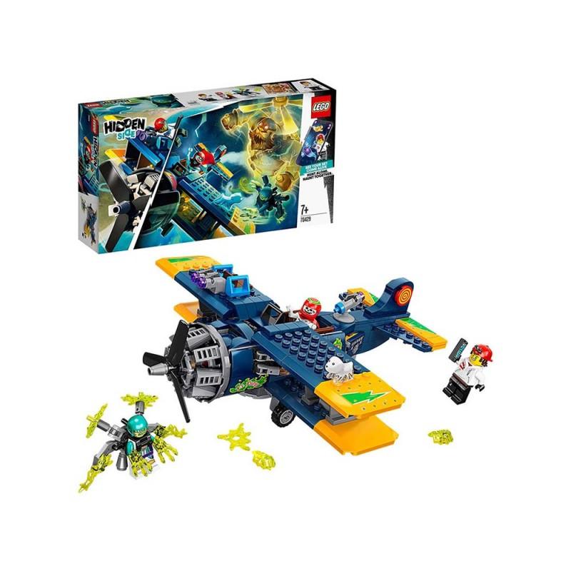 LEGO Hidden Side L'Aereo Acrobatico Di El Fuego - Lego - MazzeoGiocattoli.it