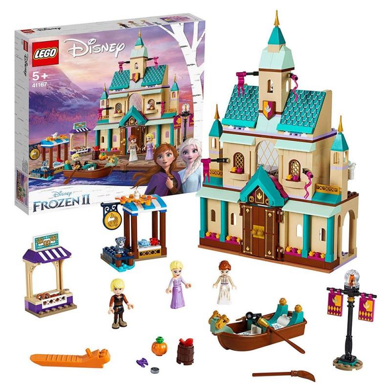 Frozen Il Villaggio Del Castello Di Arendelle, Playset Di Costruzioni - LEGO  - MazzeoGiocattoli.it