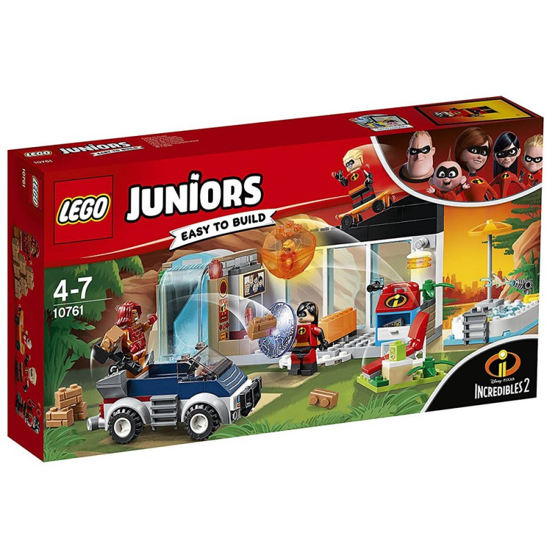 Lego Juniors Incredibili 2 La Grande Fuga Dalla Casa 10761 - MazzeoGiocattoli.it