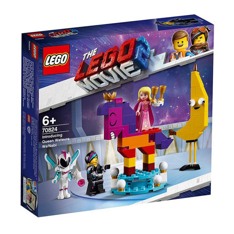 Lego Movie 2 - Ecco A Voi La Regina Wello KE Wuoglio 70824 - MazzeoGiocattoli.it