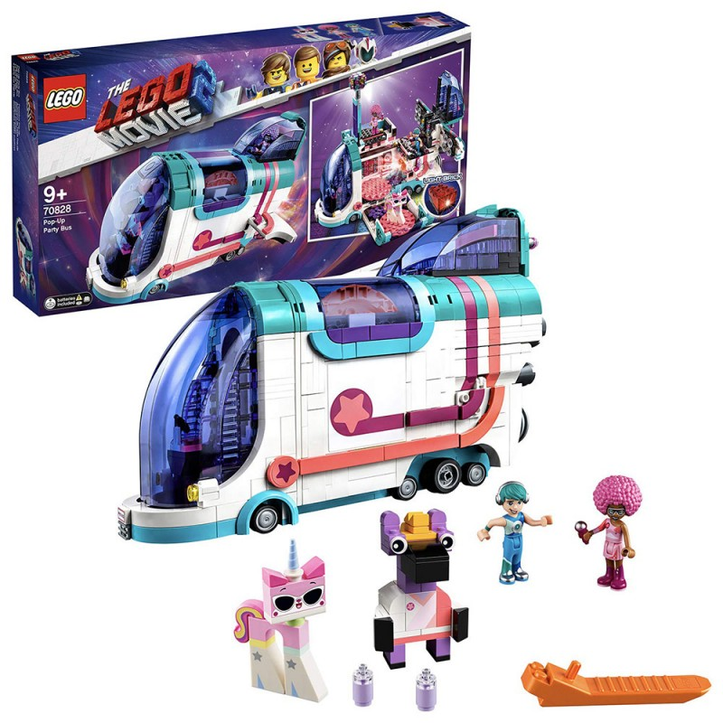 LEGO Movie 2 - Il Party Bus Pop-Up - 70828 - MazzeoGiocattoli.it