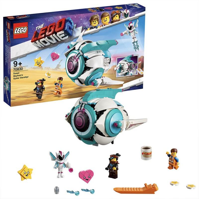 LEGO Movie 2 - L'astronave Sorellare Di Dolce Sconquasso Astronave - 70830 - MazzeoGiocattoli.it